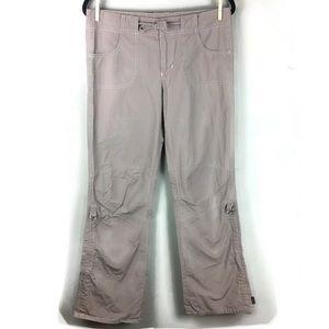 Prana Convertible Drawstring Hiking Pants Size M